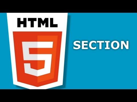HTML5 - Section