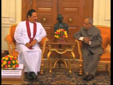 21 sep, 2012 - Rajapaksa meets top Indian leadership on state visit