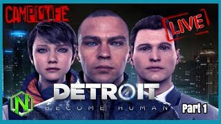 Detroit playthrough part 1  | Detroit Become Human