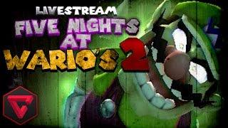 FIVE NIGHTS AT WARIO'S 2: TERROR EN VIVO | (Five Nights at Freddy's Fan Game) #TerrorConTown