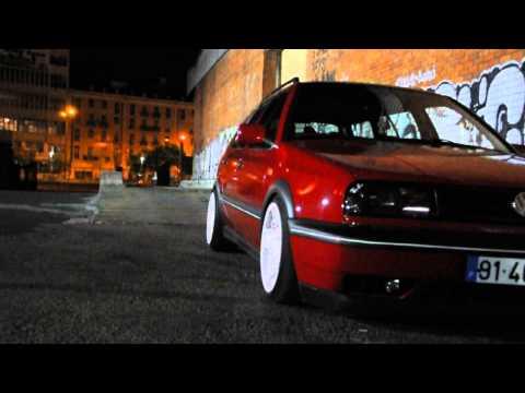 Stance Night Shot - VW Golf MK3 Variant/Estate