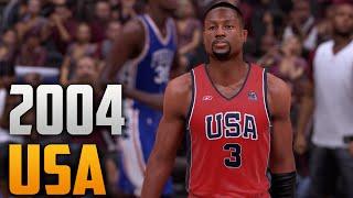 NBA 2K16 Team USA 2004 Jersey   Court Tutorial c0492dacf