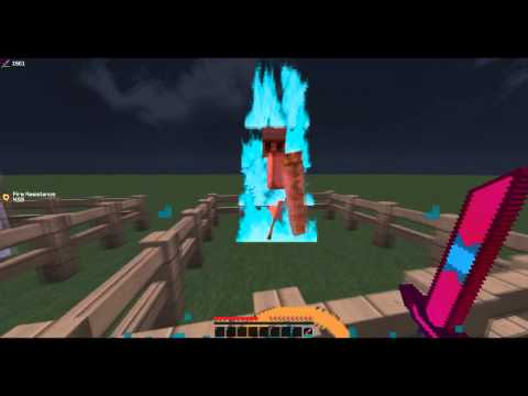 100 Subscriber Texture Pack SullivanPvP | Blue Fire - Red Armour