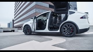 Electric SUV Doors Opening | Stock Footage - Videohive