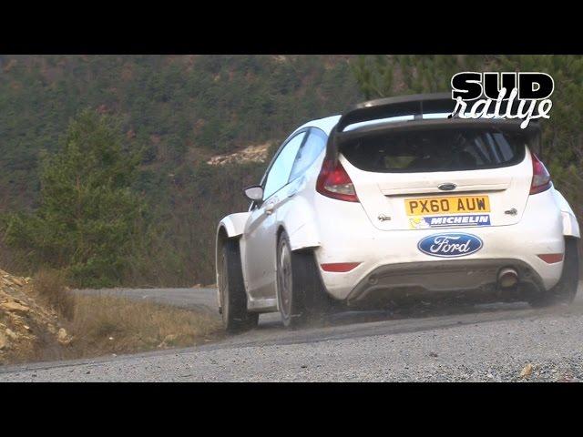 Test Rallye Monte Carlo 2015 - Ott Tänak (Fiesta WRC)