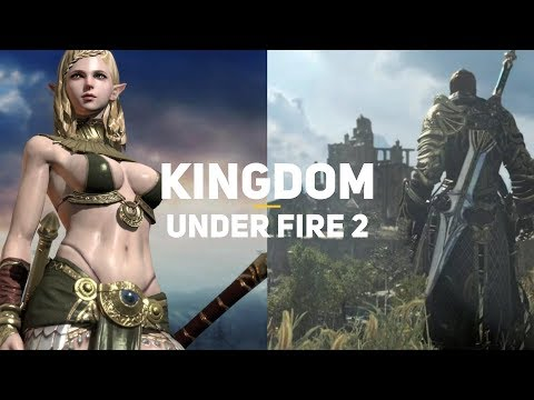 Самая дорогая ММО из Кореи! Kingdom Under Fire 2   Первый взгляд