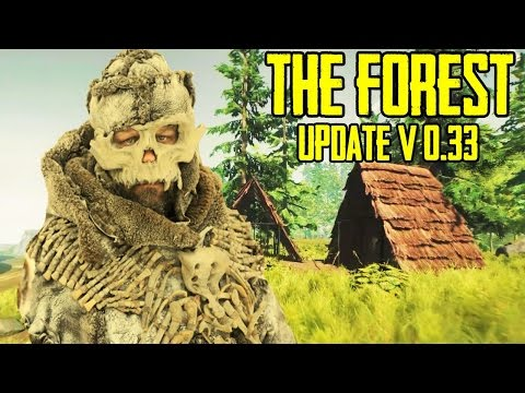 The Forest Update v0 33 HOT | Bone ARMOR AND MORE !