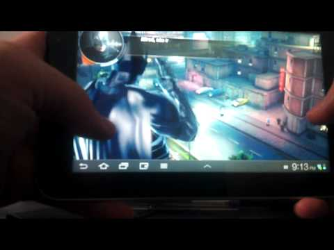 Batman Gameplay no Galaxy 7 Plus
