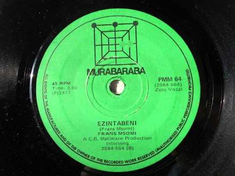 Frans msomi - ezintabeni (zulu vocal) (murabaraba 64)