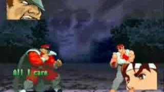 Street Fighter Alpha 3 Gameplay with M. Bison