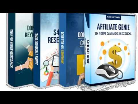 Affiliate Genie Review - Make Up to $1000 Per Day With Automated Software.