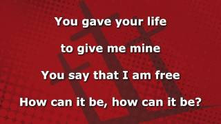 Download Lagu How Can It Be, Instrumental with lyrics (Lauren Daigle) Gratis STAFABAND