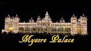 A Glimpse of Mysore Palace at Night HD