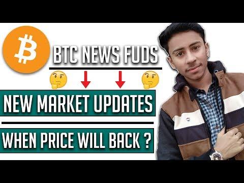{HINDI} Bitcoin News FUD'S, Good Price Updates, Market Back?