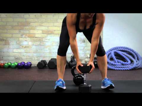 Lift a Saggy Butt with the Kettlebell Sumo Deadlift Image 1