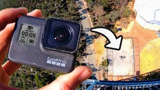 Catching a GoPro from 45m! (150 Feet)