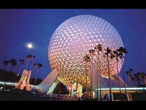 Walt Disney World - Epcot Center (Night) May 1st 2012