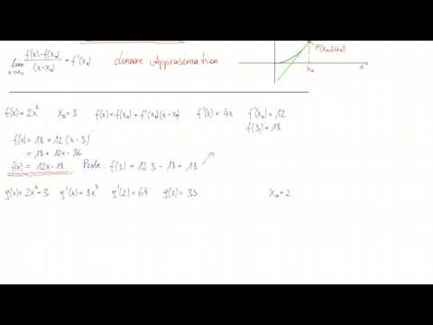 Lineare Approximation  2, Beispiele || JR Engineering