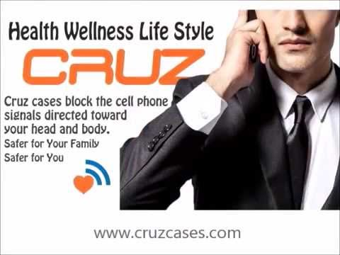 Cruz Phone Cases and Cell Phone Health Warnings
