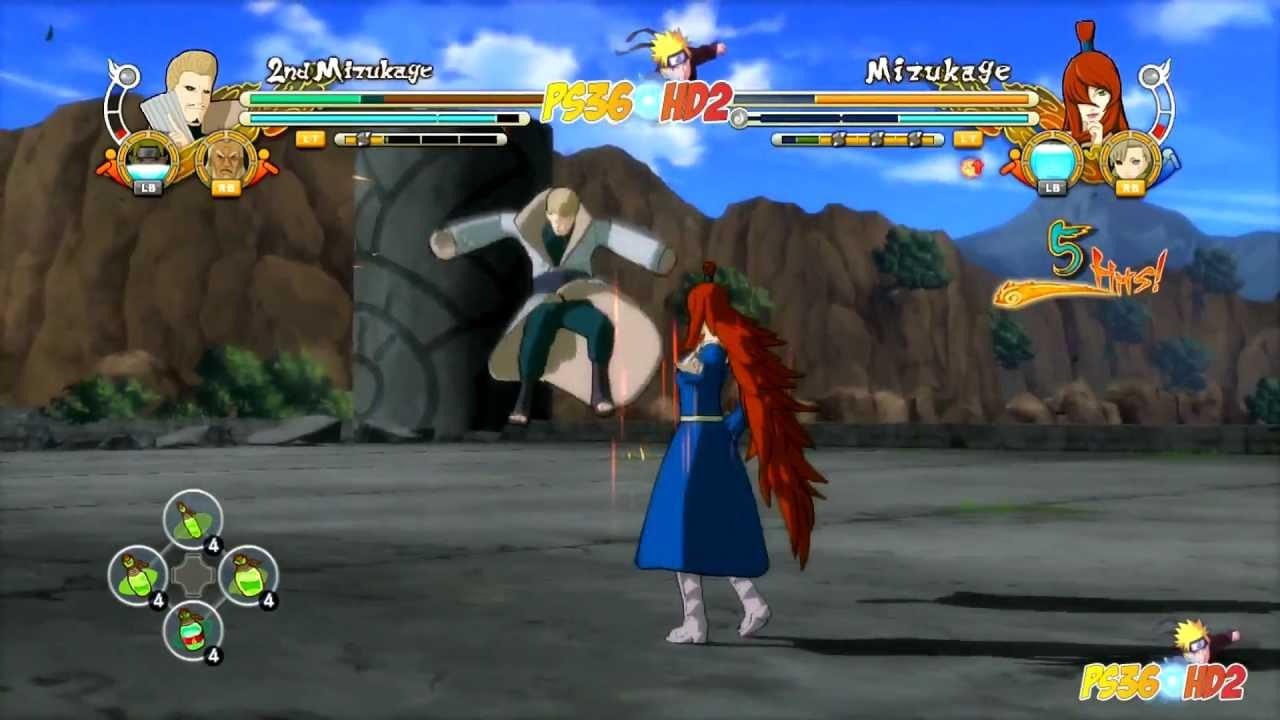 vs 5th Mizukage HD Naruto 5th Mizukage