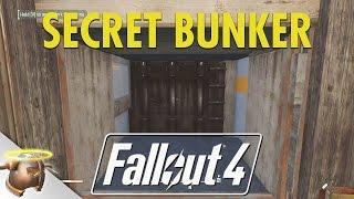 Fallout 4: Building a SECRET UNDERGROUND BUNKER settlement!