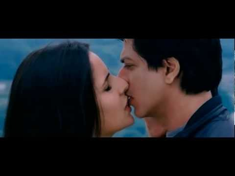 Katrina Kaif Kiss Scene With Shahrukh Khan From The Movie Jab Tak Hai Jaan video