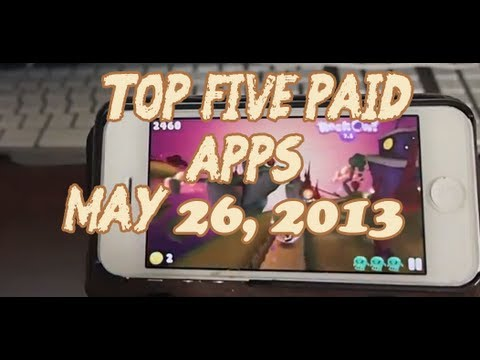 Top 5 Paid iPhone 5 Apps May 26. 2013 iPhone. iPod. iPad