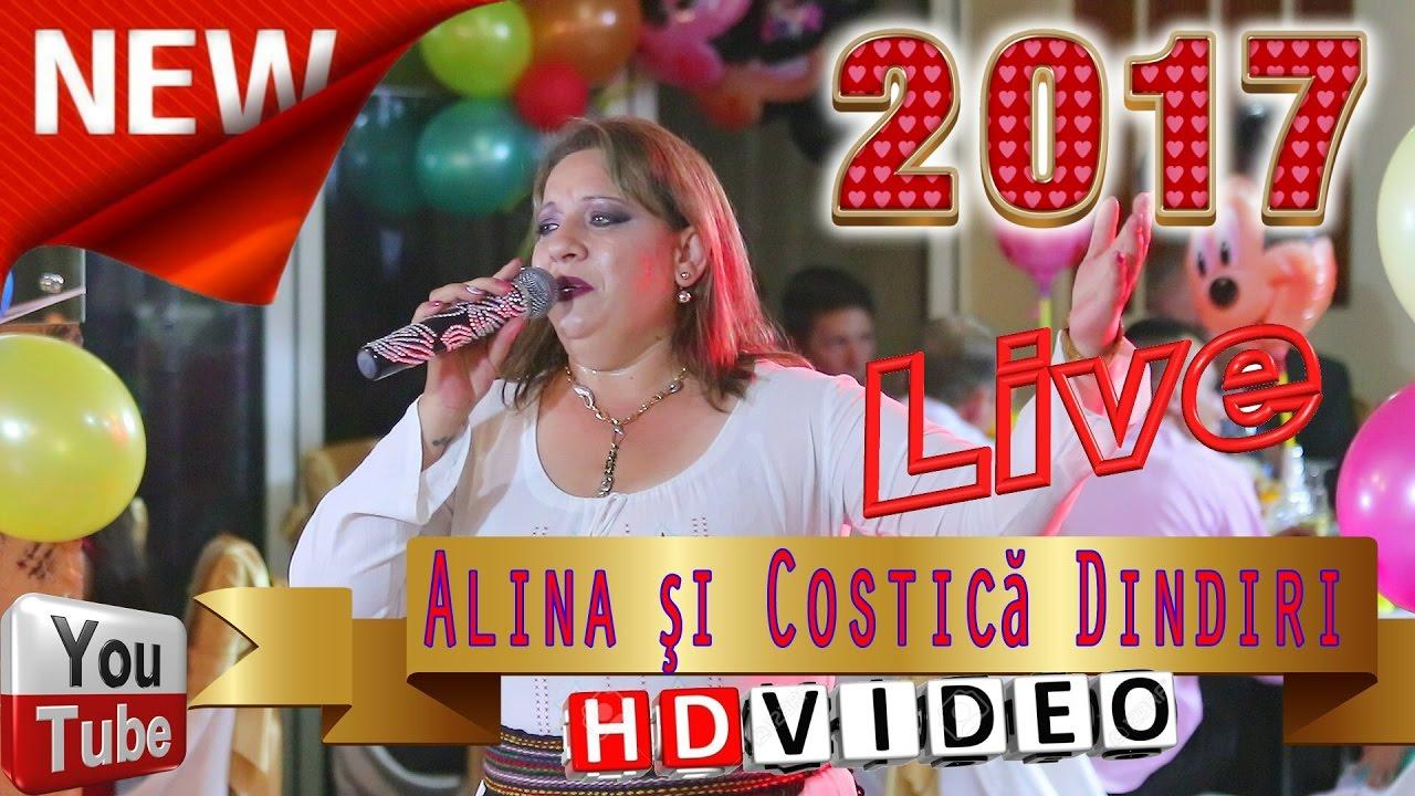 Alina si Costica Dindiri | Colaje LIVE ASCULTARI, Muzica de masa si pahar | Canta cucu bata-l vina