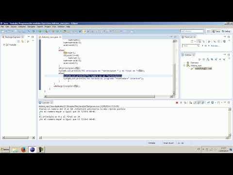 Programación en Java. El adivina números.