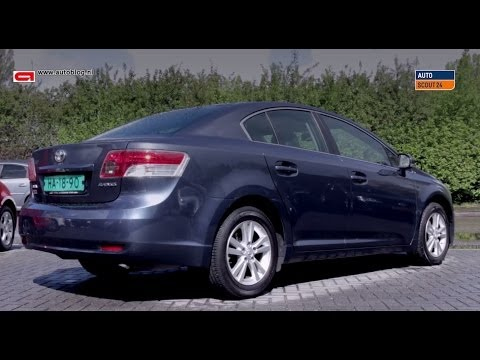 Toyota Avensis review -2008-2014-