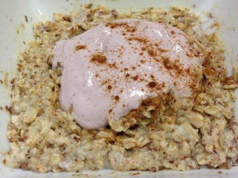 Peanut Butter & Jelly Oatmeal Recipe - HASfit Kids Healthy Breakfast Recipes - Breakfast Ideas