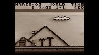 Lego Super Mario: Gameboy Pt. 1 Super Mario Land, World 1-1, Nintendo Gameboy
