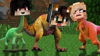 DİNAZOR OLDUK! - Minecraft
