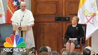 Pope Francis Apologizes For 'Irreparable Damage' Of Catholic Priest Sex Abuse | NBC News