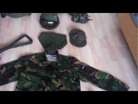 Dutch Woodland Camo Loadout