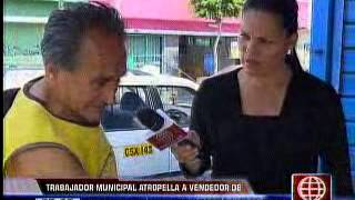 Am�rica Noticias - 060513 - Atropellaron A Comerciante En Surquillo