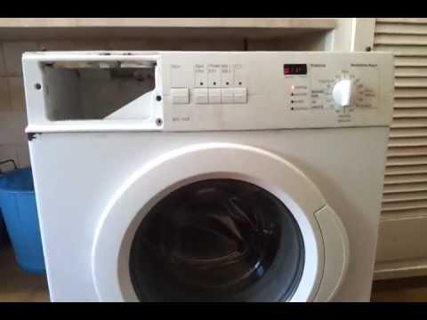 bosch exxcel washing machine manual