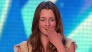 download musica Menina de 12 anos faz o publico chorar com sua bela voz cantando whitney Houston - I Have Nothing