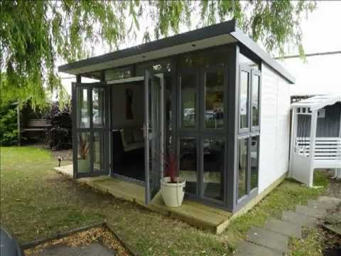 Fully Insulated Garden Room Or Home Office Fitted Free