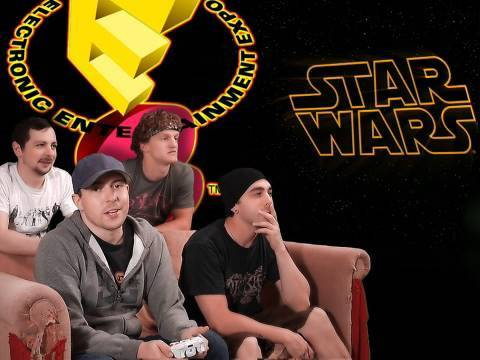 Star Wars! & Forza Motosport! - E3 2010 LIVE! - Video Games AWESOME!