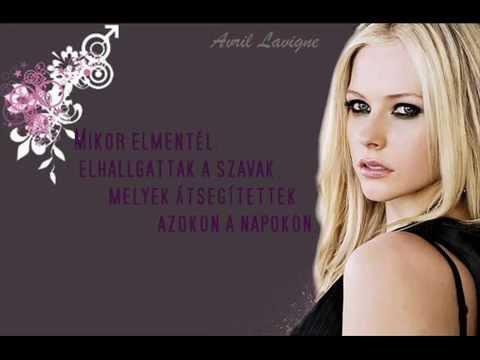Avril Lavigne - When You're Gone (amikor Elmész) [magyar] video