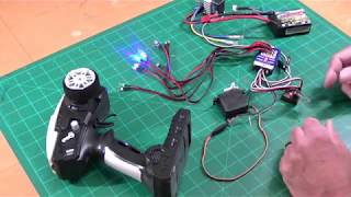 Inexpensive Scale RC Truck and Car lights - Review and Operation