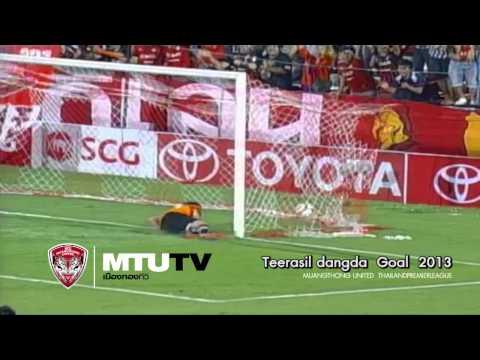 MTUTD.TV Teerasil dangda Goal & Skills 2013