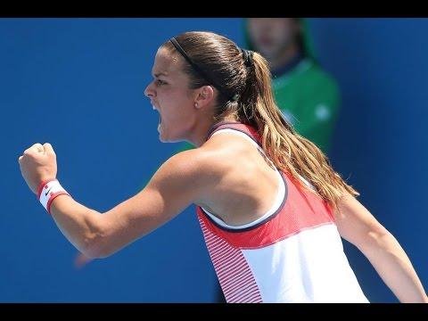 Carla Suarez Navarro -  Maria Sakkari Highlights Australian Open 2016