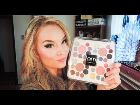 First Impression : Look : EM by Michelle Phan : The Life Palette : Party Life