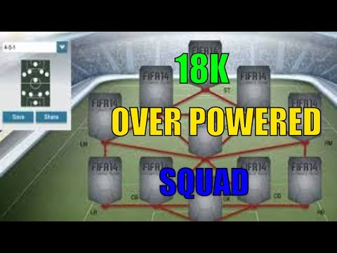 Cheap Over Powered 20K Squad Builder- ft Diego Costa, Pique and Pedro