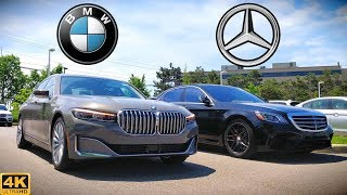 ULTIMATE LUXURY FIGHT -- 2020 BMW 7-Series vs. Mercedes S-Class: Comparison