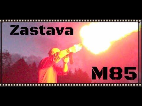 Zastava M85 PAP Serbian/Yugo 5.56x45 AK Pistol Review (HD)