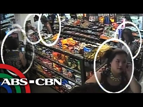 Convenience store thief caught on CCTV
