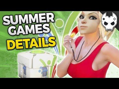 Overwatch NEW SKINS MERCY MCCREE + NEW Summer Games Info + Updated LucioBall